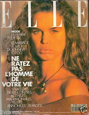 ▬►Elle 2258 de 1989 Robin_Isabelle Pasco_Johnny Clegg_Mode Fashion