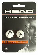 NEW Head Djokovic Dampener Shock Absorber Long Vibration - Signature - Pack of 2