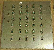 30 XLR Male/Female (5/25) Patchbay Panel for Permanent Wall or Stage Mounting!