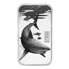 2016 $1 Cook Islands - 1oz Silver Proof Coin - Apex Predators  Great White Shark