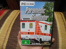 PARAMEDIC SIMULATOR_Just Sims_used PC game_ships from AUS!_zz4 bo23