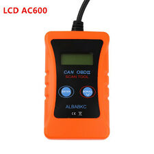 LCD Display AC600 OBD2 ELM327 Car Vehicle Fault Diagnostic Scanner Tester Tool