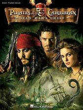 NEW - Pirates Of The Caribbean Dead Man's Chest Easy Piano Solo