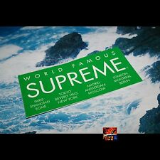 Supreme International Logo Sticker GREEN Brand New RARE CDG PCL Camo Leopard