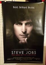Original Movie Poster For Steve Jobs The Man In The Machine Double Sided 27x40