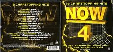 Now That's What I Call Music 4 ,cd album 18 songs- Aqua,Chumbwamba,Boyzone, +