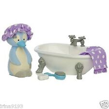 Tatty Teddy and My Blue Nose Friends Penguin Furniture Set Chilly Bathroom New