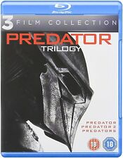Predator Trilogy - Complete Movies 1-3 (Blu-ray, Region Free) *NEW/SEALED*