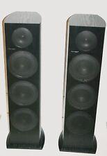 Pioneer SP-FS51-LR Stereo Floor Speakers 3-Way Dual 5-1/4 Woofer 130W Working VG