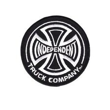 INDEPENDENT TRUCK COMPANY IRON PATCH SEW EMBROIDERED LOGO EMBLEM HARDCORE CUSTOM