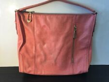 T TAHARI Peach Purse Tote Shoulder Bag Handba