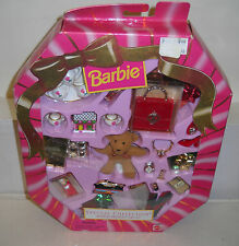 #2591 NRFB Mattel Barbie Special Collection Holiday Presents Giftset