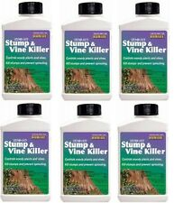 (6) Bonide # 274 8 oz Liquid Stump Out Stump and Vine / Woody Plant Killer
