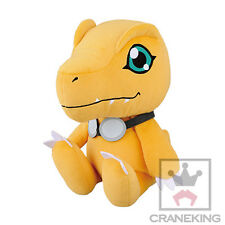 Digimon 10'' Sitting Agumon with Goggles Banpresto Prize Plush Anime Manga NEW
