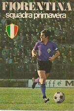 (Artemio Franchi) Fiorentina squadra primavera 1969