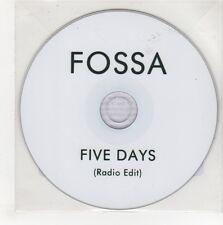 (GN515) Fossa, Five Days - DJ CD