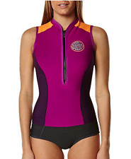 Rip Curl GBomb Cap Sleeve Springsuit Color NVY PURPLE Bombshell series G Bomb