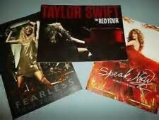 Taylor Swift Set of 3 Tour Books - Brand New - Speak Now, Red & Fearless AWESOME