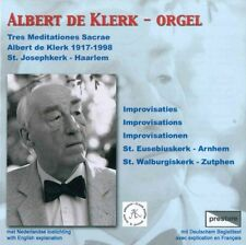 Albert de Klerk: Improvisatie - Sonatine / CD neu