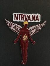 Nirvana Angel Embroidered Patch Iron on or Sew On