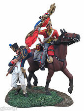 William Britains Napoleonic CAPTURE OF THE FRENCH 105 LIGNE EAGLE 36084