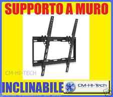 "SUPPORTO A MURO STAFFA 32 37 40 42 50 55 "" PER TV TELEVISORE LED LCD INCLINABILE"