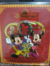 Disney Hong Kong Pin Chinese New Year Horse 2014 Mickey Minnie Duffy LE500