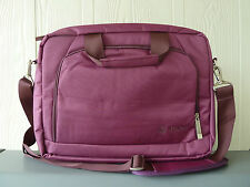 """CLEARANCE SALES!!! Up to 14"""" Quality Nylon Laptop bag,Computer case/bag. Purple."""