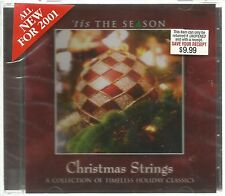 Tis The Season Christmas Classic CD 2001 New