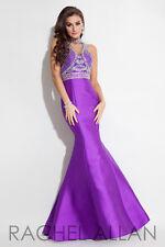 Authentic Rachel Allen 7179--Color: Purple -- Size: 12