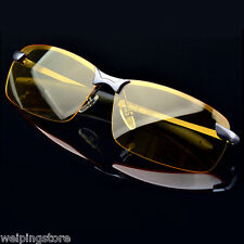Men's High-End Polarized Night Vision Eyewear Sunglasses Goggles Driving Glasses