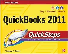 QuickBooks 2011 QuickSteps by Thomas Barich (2010, Paperback)