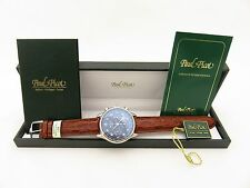 PAUL PICOT  GENTLEMAN 42 CRONO 42 MM AUTOMATIC BOX & PAPERS FULL SET
