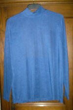 PULL NEUF ETIQUETTES M&S MODE BLEU  MANCHES LONGUES TAILLE 44/46