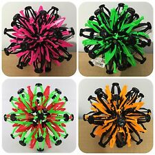 LOT OF 4 MIX EXPANDABLE TRANSFORMING RAINBOW SPHERE EXPANDING COLORFUL BALL TOY