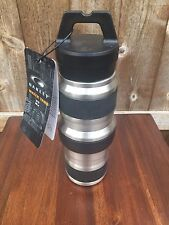 "New Oakley ""Water Tank"" Water Bottle 20oz Stainless Steel Collapsible RARE Item"