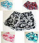 Womens Ladies Girls Summer Floral Flower Print Beach Board Shorts Hot Pants 8-22