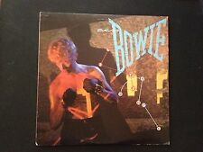 David Bowie Let's Dance 1983 Vinyl Record LP w/ Nile Rodgers, Stevie Ray Vaughan
