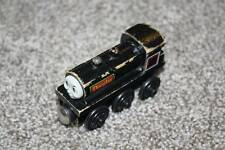 Thomas & Friends Wooden Railway Douglas Black Train Engine Learning Curve Toy