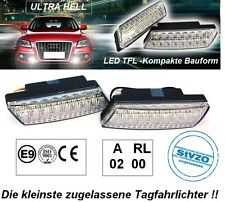 ULTRA KLEINE LED Tagfahrleuchten R87 Modul E-Prüfzeichen Tagfahrlicht mit Dimm