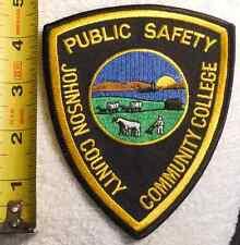 JOHNSON COUNTY KANSAS PUBLIC SAFETY PATCH (EMS, FIRE, STATE POLICE, SHERIFF)