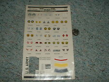 Microscale  Decals 1/72 72-22 US Army aircraft markings 1930-41 C97