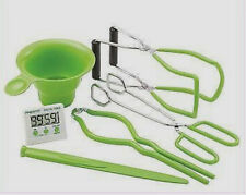 New PRESTO 7 Function Canning Kit Accessories Kitchen Timer Funnel Lifter #09995