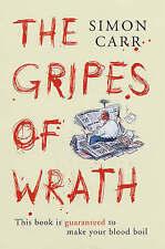 "Gripes of Wrath: Simon Carr ""AS NEW"" Book"