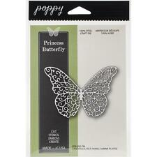 Poppy Stamps Dies - Butterfly Princess