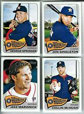 2014 ASTROS 40 Card Lot w/ TOPPS HERITAGE HIGH NUMBER Team Set (25) '14 Players