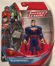 Justice League Blue Superman 4.5 in. Action Figure Mattel New 2013