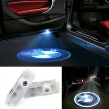 2X Logo LED Step Door Courtesy Welcome Light Ghost Shadow Laser Projector 4 BMW