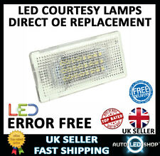BMW 5 SERIES F10 WHITE SMD LED BOOT TRUNK UPGRADE UNITS BULBS LIGHT