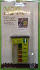SOIL pH TESTER - Contains 8 tests - Test soil/rainwater - GREAT VALUE